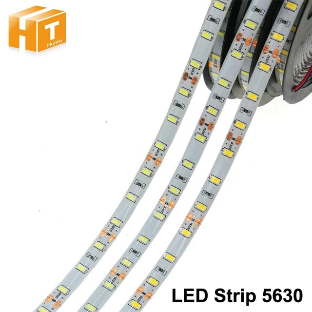LED Streifen 5630 DC12V 60 LEDs/M 5 mt/los Flexible LED Licht RGB RGBW LED Streifen 5050.