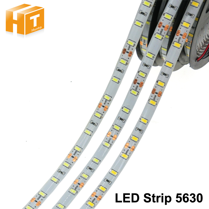 LED Strip 5630 DC12V 60LEDs/M 5m/lot Flexible LED Light RGB RGBW LED Strip 5050.