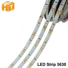 Free Shipping  5630 12V flexible light 60 leds/m waterproof LED strip,5m/lot White color,brighter than 5050 цена 2017