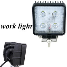 high quality 2pcs40W LED Work light lamp square FLOOD BEAM  Offroad 4×4 Truck tractor Boast SUV ATV LED Work light