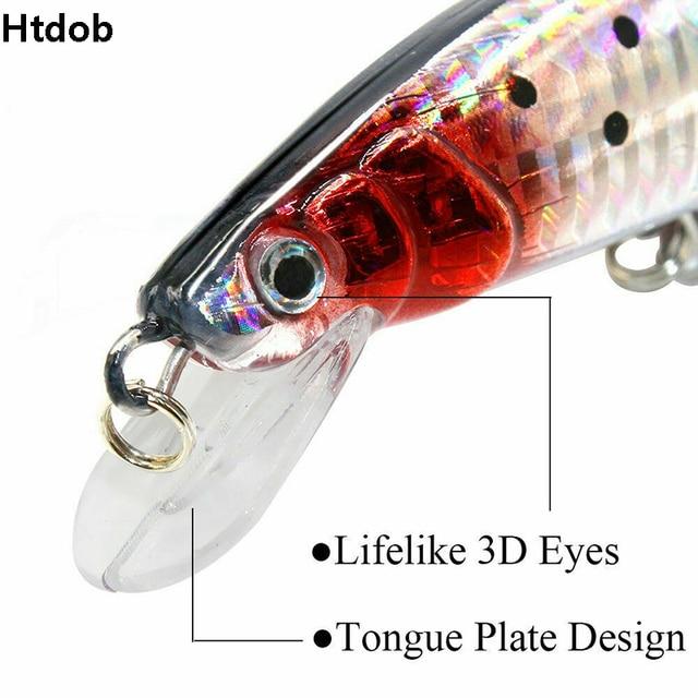 1PC USB Rechargeable LED Light Fishing Lure Twitching Fishing Lures Bait Hooks Vibration Electronic Fishing Baits Lures Kit Bass 5