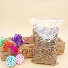 100 pcs Plastic Packing Poly Zip Lock Bag / Plastic Packaging Bags