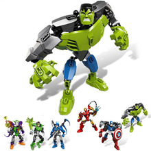 Superheroes Assembling Action Figures (6 Designs)