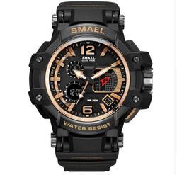 2018 Smael marka mężczyźni zegarek biały wojskowy Sport Led cyfrowy 50 m wodoodporny na co dzień S Shock mężczyzna zegar 1509 Relogios masculino człowiek w Zegarki sportowe od Zegarki na