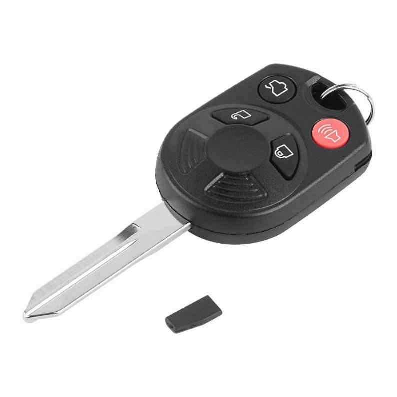 4 Knoppen Keyless Auto Afstandsbediening Sleutelhanger OUCD6000022 Met ID63 Chip 80 En Batterij Voor Ford Edge Escape Focus Lincoln mazda Mercury