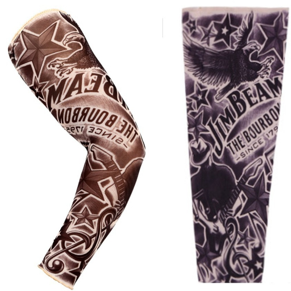 buy fake tattoo art sleeve sexy flower skull flash tattoo jewelry temporary. Black Bedroom Furniture Sets. Home Design Ideas