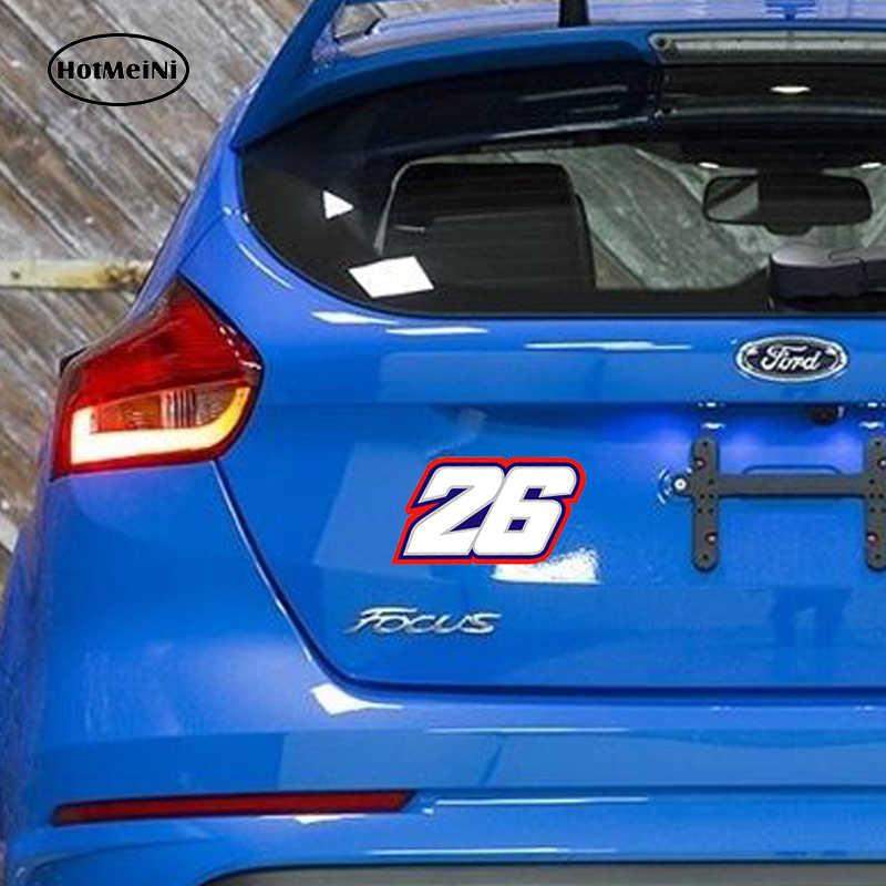 HotMeiNi estilo de coche pegatina impermeable 26 Moto GP Autocollants 3D pegatinas de Vinyle automovilismo 13*7,8 cm
