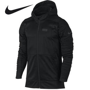 sports shoes 0e90d d6ce0 Nike Men s LeBron James Sports Windproof Hooded Black Jacket
