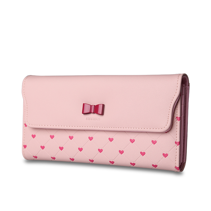 new leather Women Wallet Portable Multifunction Long Wallets hot female Change Purse