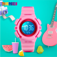 SKMEI Waterproof Digital Children Watches Colorful Led Light Electronic Kids Watch Boys Girls Gift Watch Clock Wristwatches 1485