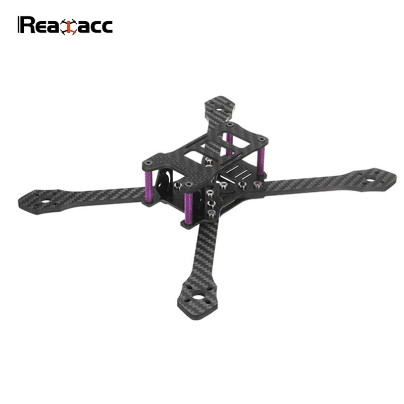Realacc Angle220S 220mm Carbon Fiber True X Stretch 4mm Arm Adjustable Frame Kit For RC Models Quadcopter VS Angle220 hanriver 2018 adjustable elbow support arm recovery machine broken arm with a fixed gear splint stretch training