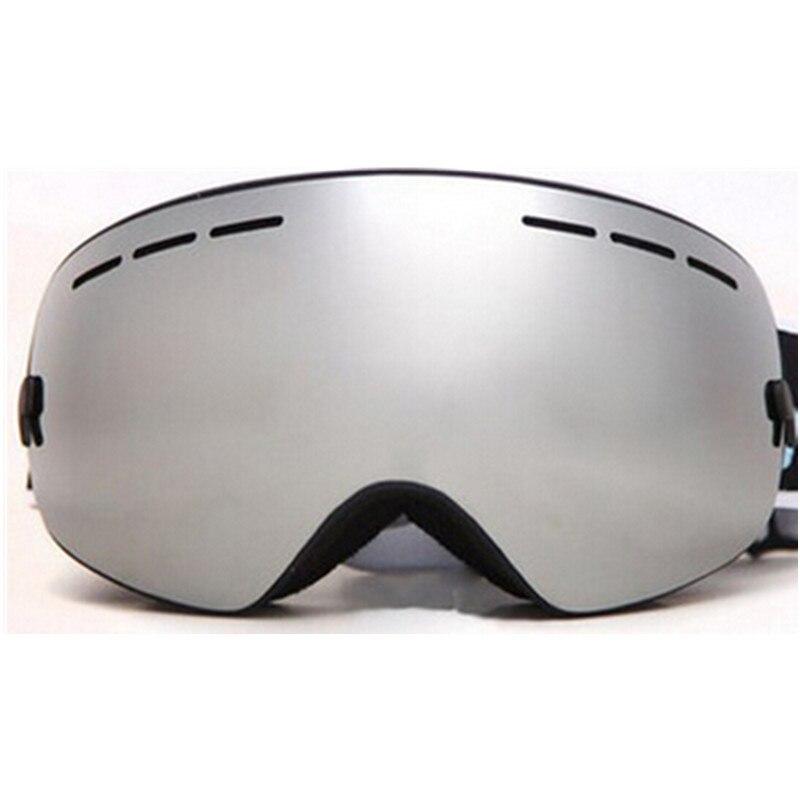 Benice Brand font b Ski b font Snowboard Goggles Double Lens Anti Fog UV Spherical Professional