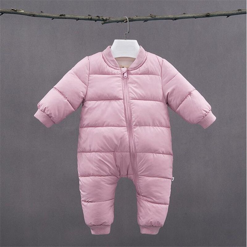 BibiCola newborn clothes winter baby girls boys rompers clothing infant bebe jumpsuit thick warm snowsuit outfits