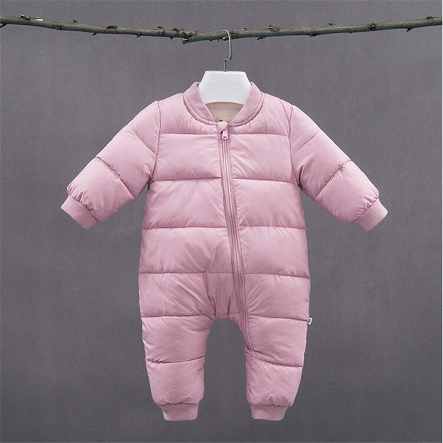 bd9423ca655f BibiCola newborn clothes winter baby girls boys rompers clothing ...