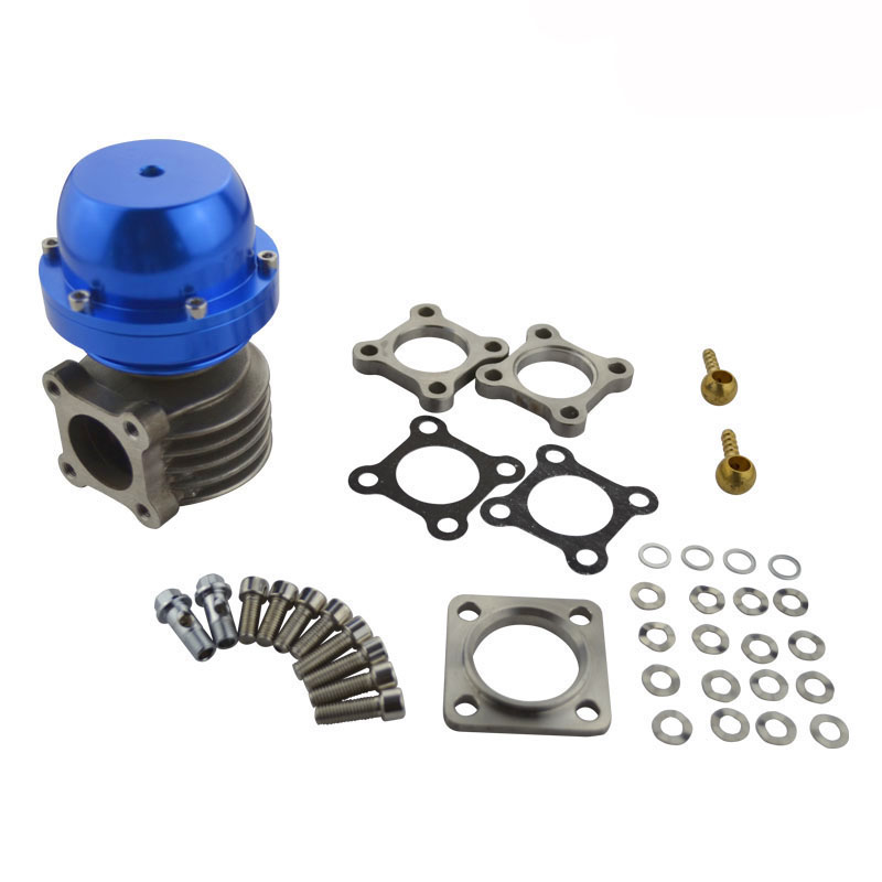 купить evil energy-External Turbo 46mm Wastegate Turbo Manifold Exhaust Wastegate 10 PSI Spring Blue по цене 3261.16 рублей