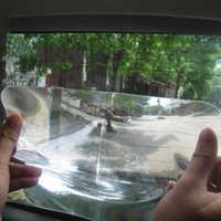 New Wide Angle Fresnel Lens Car Parking Reversing Sticker Useful Enlarge View Angle fresenl lens