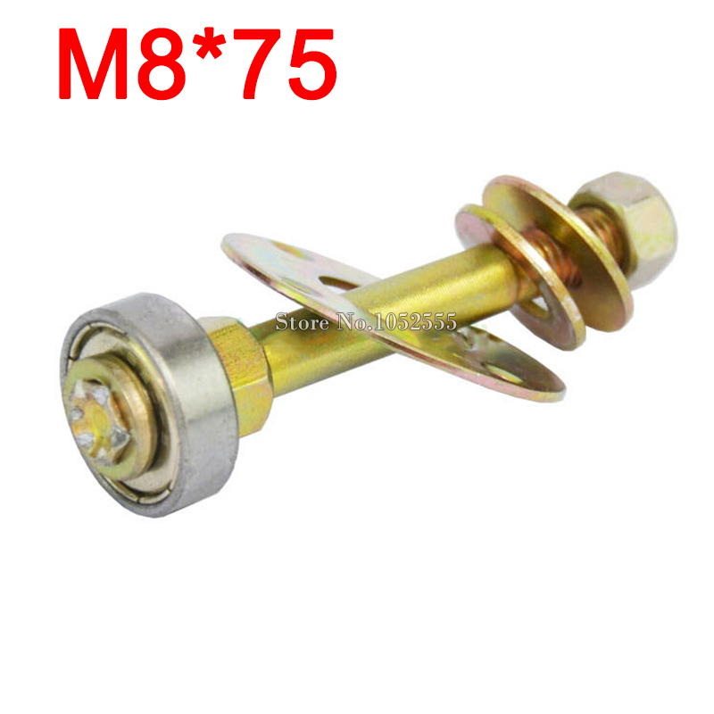 Wholesale 50PCS M8*75 furniture connecting piece screw kit rocking chair accessories rocker 608ZZ bearing connecting piece E197