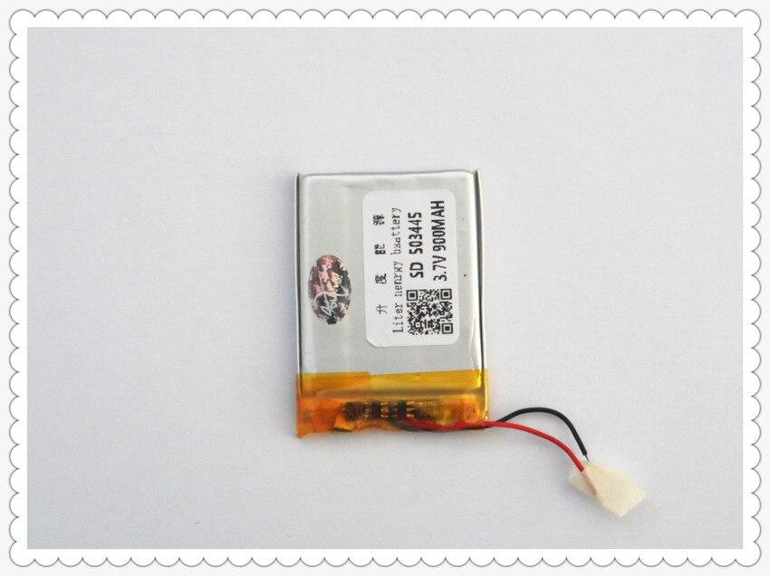 Stromquelle Liter Energie Batterie 503445 3,7 V 900 Mah 503443 Lithium-polymer Li-po Li Ionen Akku Für Mp3 Mp4 Wasserdicht StoßFest Und Antimagnetisch