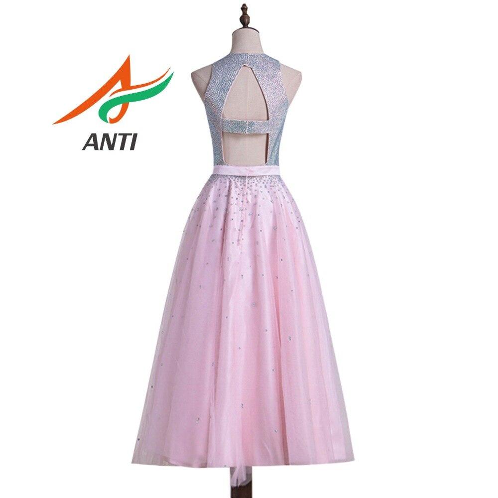 Aliexpress.com: Comprar ANTI elegante Rosa Prom Vestidos De té ...