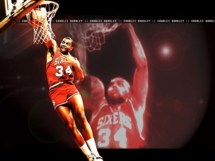 Home Decor Search For Flights D0254 Charles Barkley Dunk 76ers Basketball Star-print Silk Art Wall Poster Crease-Resistance