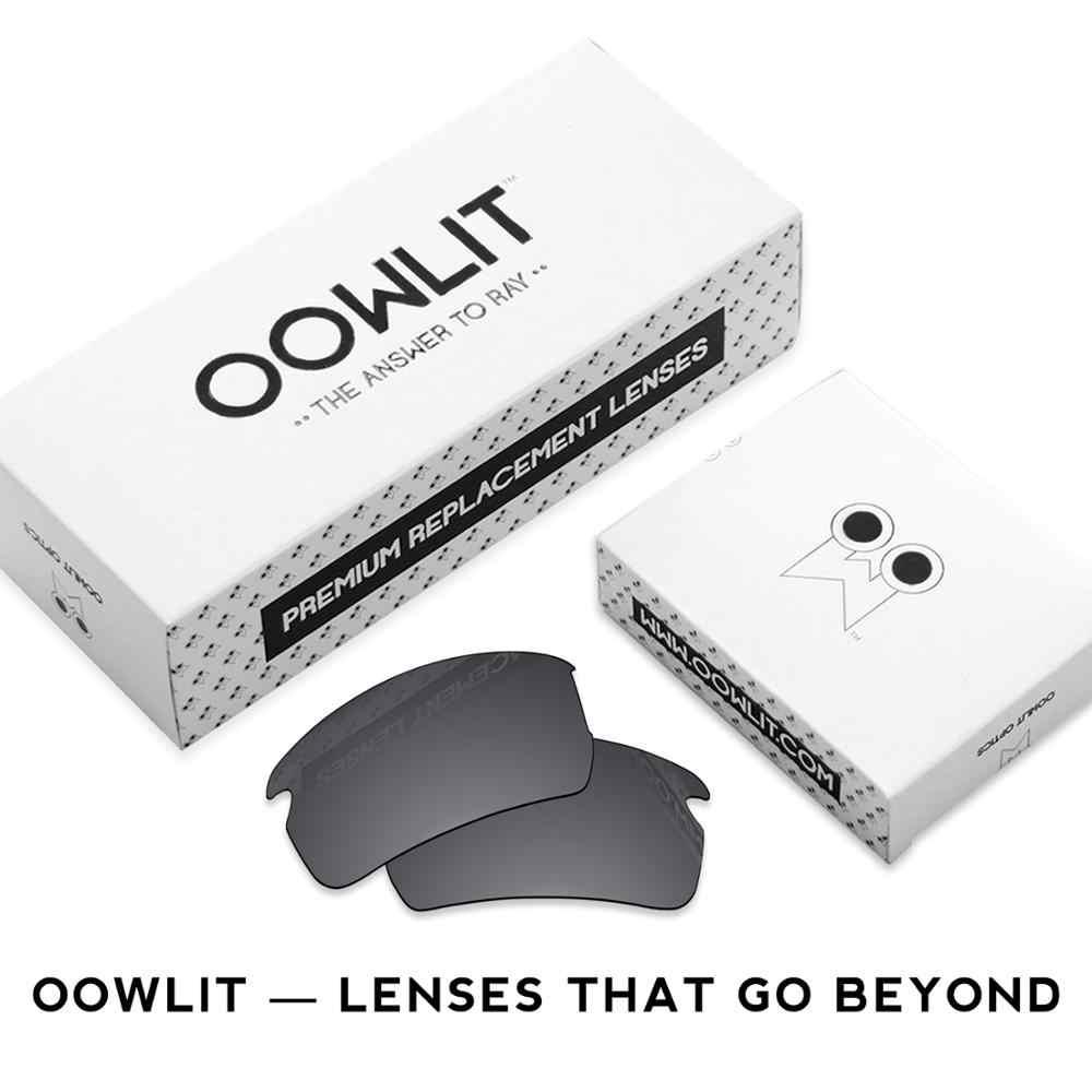 Oowlit Chống Trầy Xước Cực Chất Thay Thế Ống Kính Cho-Oakley HOLBROOK Kim Loại OO4123 Khắc Kính Mát
