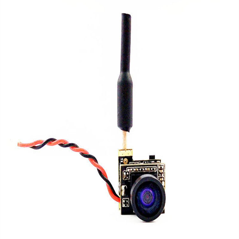 Free shipping CUAV RC 5.8G 25mw 48CH transmitter&camera cyclops for FPV model wing Mini multi rotor and ultralight aircraft