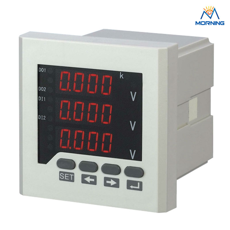 3AV73 panel size 80*80mm factory price 3 phase digital voltmeter,3 lines LED display electric instrument футболка lin show l15x6012 2015