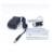 TDOU Portátil Binocular Dental Lupas 3.5X420mm + LED Head Light Lamp + Caixa De Alumínio (Prata) frete Grátis