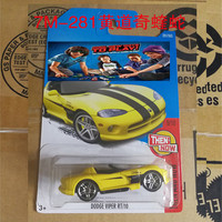 New Arrivals 2017 Hot Wheels DODGE VIPER RT 10 Metal Diecast Cars Collection Kids Toys Vehicle
