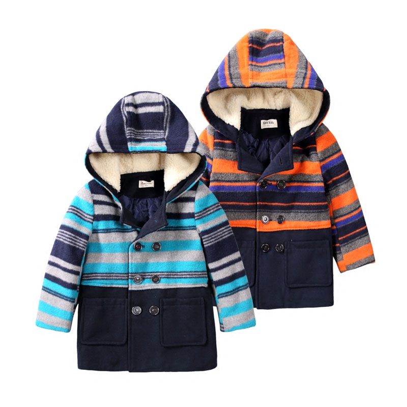 Children's Coat Winter Thicker Long New Coat Children's Hooded Jacket Warm Winter Clothes Cotton Winter Warm Thick Coats 3-10T 2017 new winter women hooded outerwear parka long warm thick coats female jacket wadded plus size cotton coat xt0230