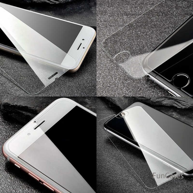 מגן סרט עבור iPhone 6 6 s בתוספת מזג זכוכית פיצוץ הוכחה מסך מגן עבור אפל iPhone6 s 6 בתוספת מול ברור זכוכית