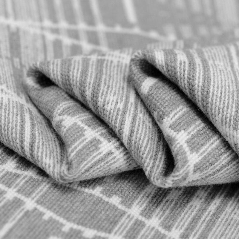 Hoge kwaliteit jacquard wollen stof meter grijs jacquard wollen stof jurk rok wol jacquard stof groothandel wol doek - 4