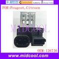 Nova Fan Blower Motor Resistor uso OE NO. 1267J6/1267. J6 para Peugeot 207 208 301 407 508 1007 2008 Citroen C2 C3 DS3
