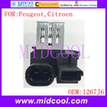 Nuevo Ventilador Del Motor Del Ventilador Resistencia uso OE NO. 1267J6/1267. J6 para Peugeot 207 208 301 407 508 1007 2008 Citroen C2 C3 DS3