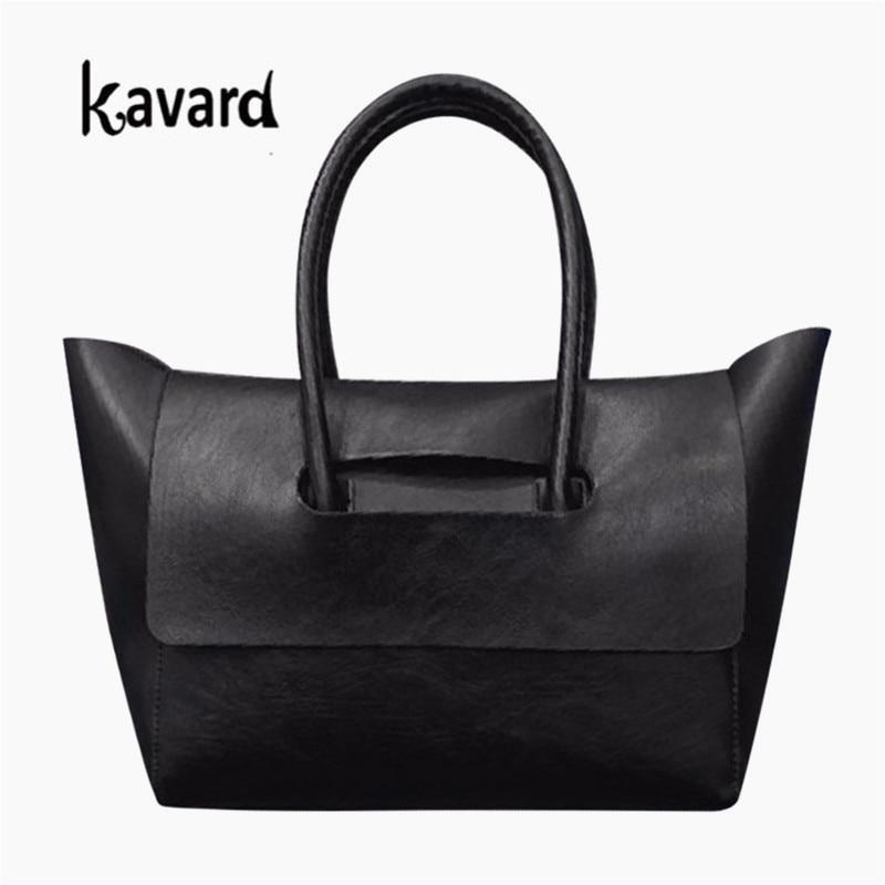 8f92b6704239 2017 Luxury Women Trapeze Bags Designer Handbag High Quality Vintage Pu  Leather Solid Totes Sac a