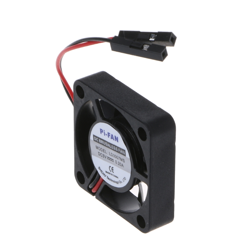 Mini Cooling Fan Heat Sink For Raspberry Pi 3//2//B 3.3V//5V Model Computer