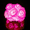 Роуз Светодиодные Строка 20 Светодиодов Цветок Огни Фея для Праздник Свадьба Рождественские Декор Номеров Цвет Фонарь быстрый корабль R