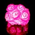 Rosa Led String 20 Leds Luzes de Fadas para Festa de Natal Do Casamento Do Feriado Decoração Da Sala de Flor Cor Lanterna navio rápido R