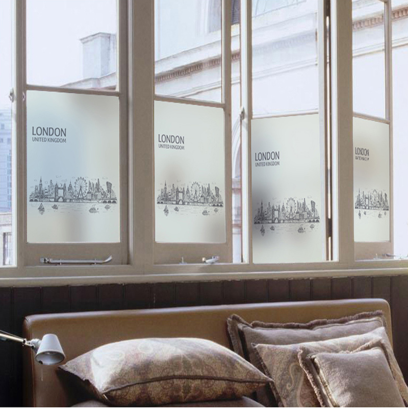 Us 94 5 Offkantoor Etalage Sticker Glas Sticker Scrub Glas Film Slide Deur Balkon Transparant Opaque Badkamer Glas 76 In Decoratief Folie Van Huis