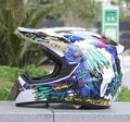 Motocicleta casco capacetes capacete da motocicleta moto atv bicicleta da sujeira do motocross corrida capacete s m l xl tamanho dot capacete