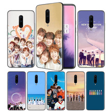 KPOP ASTRO Soft Black Silicone Case Cover for OnePlus 6 6T 7 Pro 5G Ultra-thin TPU Phone Back Protective