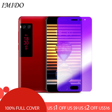 IMIDO Full Coverage Anti Blue Tempered Glass for Meizu Pro 6 Plus Anti-blue Light Screen Protector 7 Film