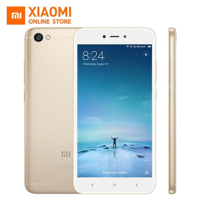 Xiaomi Redmi Note 5A 5 A 2GB RAM 16GB ROM Mobile Phone Snapdragon 425 Quad Core CPU 5.5 Inch 13.0MP 3120mAh
