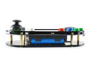 Image 5 - Waveshare vídeo game console para raspberry pi 3.5 polegada 480*320 ips tela material acrílico suporta recalbox/retropie