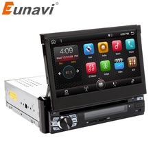 Eunavi RAM 2G Single 1 Din 7″ Android 7.1 Car Dvd GPS Navigation Radio Stereo Universal Head Unit With Wifi Touch Screen BT RDS