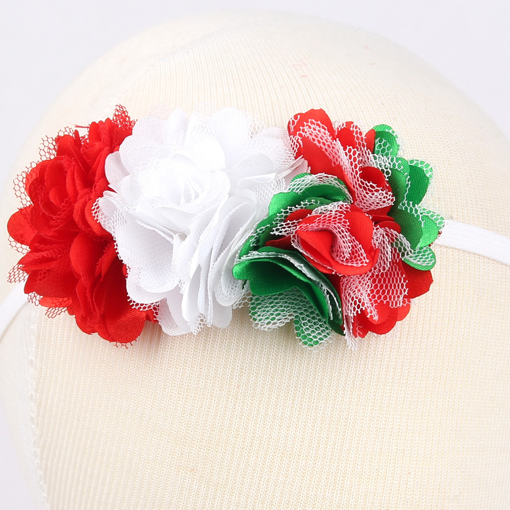 Hair Accessories 6pcs/Lot Grosgrain Solid Hair Bow Bands Headbands Accessories Hairband Flower Baby & Toddler Clothing
