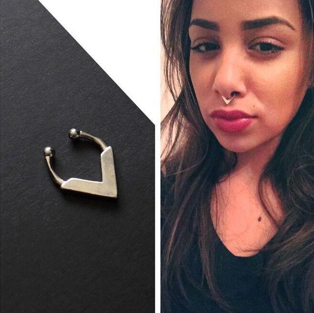 Aliexpress Buy 1pcs Hot Sale Cute Silver Septum Jewelry Faux