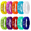 20pcs Montre Femme Touch Screen LED Bracelet child's Watches For Women Men Ladies Child Clock Wrist Watch Men Sports Reloj Mujer