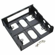 3,5-5,25 дюймов Монтажный кронштейн для дисковода, чехол для компьютера, ПК, адаптер, usb-хаб, флоппи-оптическая Передняя панель