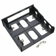 3.5 inch to 5.25 inch Drive Bay Mounting Bracket Computer PC Case Adapter USB Hub Floppy to Optical Front Panel(China)
